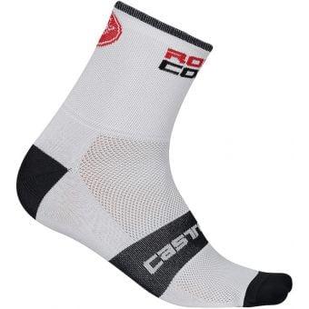 Castelli RossoCorsa 9 Socks White Small/Medium