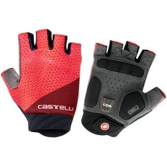 Castelli Roubaix Gel 2 Womens Gloves Brilliant Pink 2021