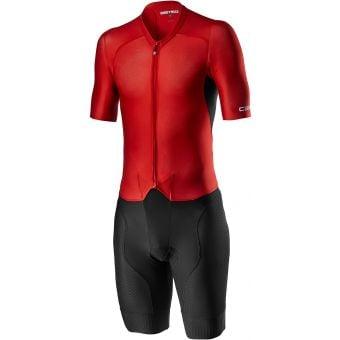 Castelli Sanremo 4.1 Mens Speed Suit Black/Red 2021