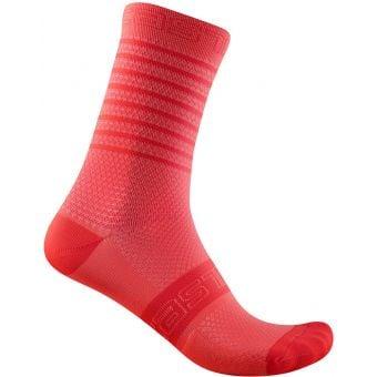 Castelli Superleggera 12 Womens Socks Brilliant Pink 2021
