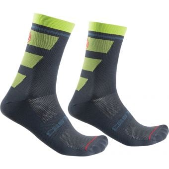Castelli Trofeo 15 Socks Dark Steel Blue 2020