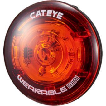 CatEye Wearable Mini Battery Tail Light Red