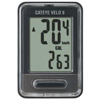 CatEye Velo 9 CC-VL820 Wired Bike Computer Black/Grey