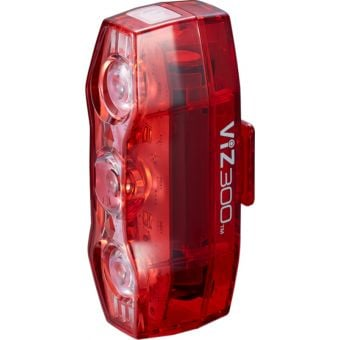 Cateye ViZ300 USB Rechargeable Rear Light 300 Lumens