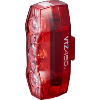 Cateye ViZ450 USB Rechargeable Rear Light 450 Lumens