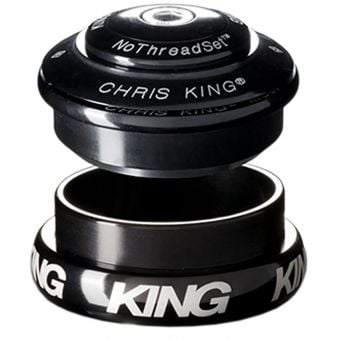 Chris King InSet i8 44mm 1-1/8>1-1/4 Tapered Black