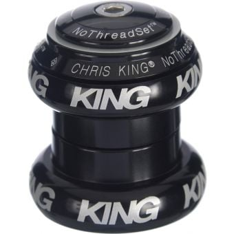 "Chris King NoThreadSet 1"" Griplock Bold Laser Headset Black"