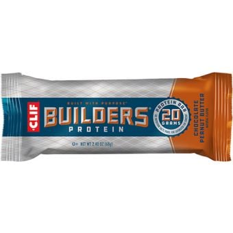 Clif Builders Protein Bar Choc Peanut Butter 68g