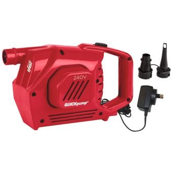 Coleman 240-Volt High Output QuickPump Red