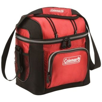 Coleman 9-Can Soft Cooler Red