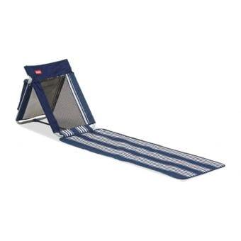 Coleman Beach Mat Seat Navy Strip