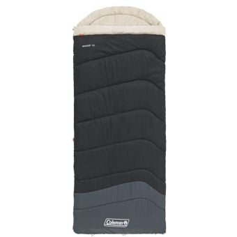 Coleman C0 Mudgee Tall Sleeping Bag Black/Blue