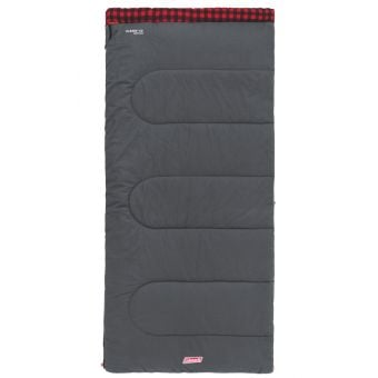 Coleman C0 Pilbara Sleeping Bag Grey/Red
