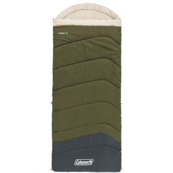 Coleman C5 Mudgee Tall Sleeping Bag Green/Blue