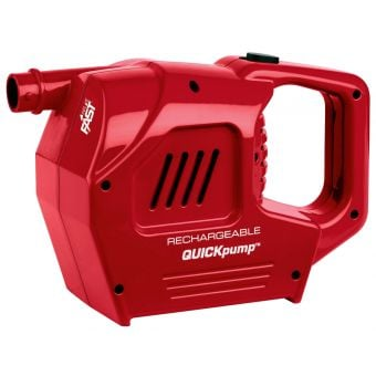 Coleman Cordless 12v/240v Rechargeable QuickPump Red