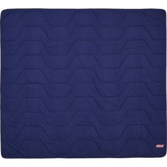 Coleman Double Deluxe FleeceBlanket Blue/Red