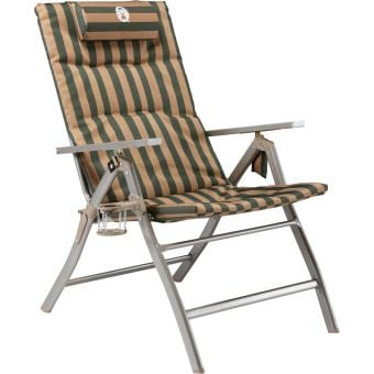Coleman 5 Position Padded with Glassp Flat-Fold Chair Classic