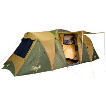 Coleman Gold Series Chalet 9-Person Tent Green/Tan