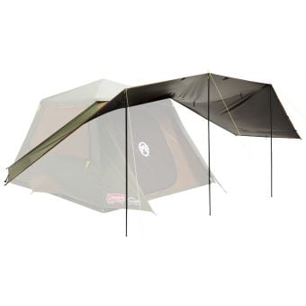 Coleman Instant Up 4 Person Gold Series Evo Shade Awning With Heat Shield