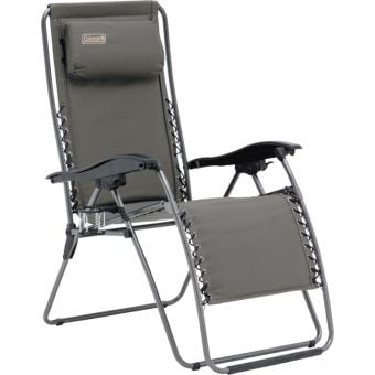 Coleman Layback Lounger Flat-Fold Chair
