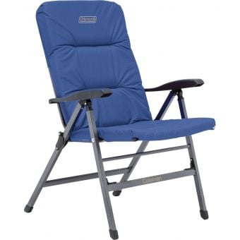 Coleman Pioneer Flat Fold Reclining Chair Blue