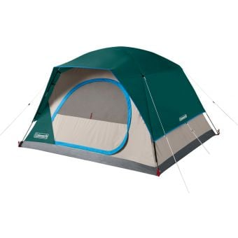 Coleman SkyDome 4-Person Quick Dome Tent Green/Grey