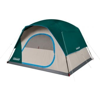 Coleman SkyDome 6-Person Quick Dome Tent Green/Grey