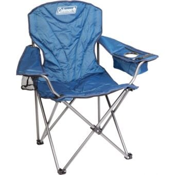 Coleman Wide Quad King Size Cooler Chair Blue