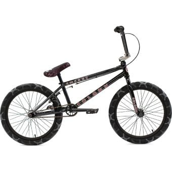 "Colony Emerge 20.75"" Expert Level Complete BMX Bike Gloss Black/Grey Camo"