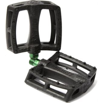 Colony Fantastic Plastic Pedals Black/Green