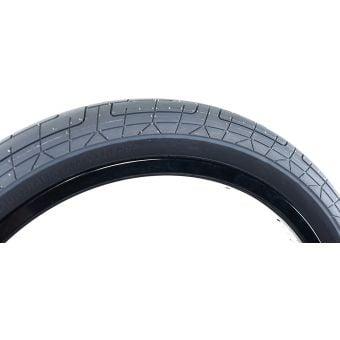 "Colony Grip Lock Steel Bead 20 x 2.35"" BMX Tyre Grey Tread/Black Wall"