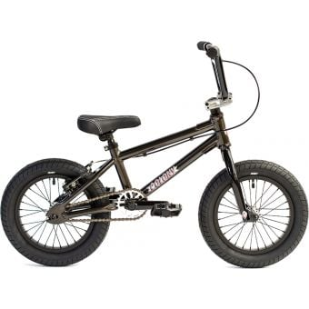 "Colony Horizon 14"" Micro Freestyle Complete BMX Bike Metal Grey"