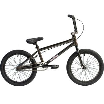 "Colony Horizon 18"" Micro Freestyle Complete Kids BMX Bike Metal Grey"