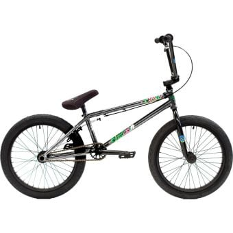 """Colony Sweet Tooth 20.7"""" Pro Complete BMX Bike Silver Storm"""