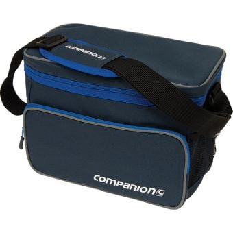 Companion 12 Can Crossover Cooler Black/Blue