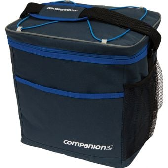 Companion 30 Can Crossover Cooler Black/Blue