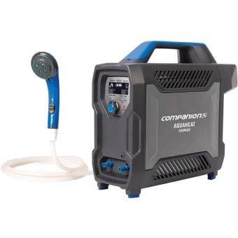 Companion AquaHeat Rechargeable Lithium Gas Heated Portable Shower