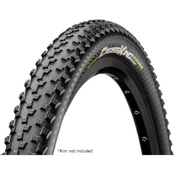"""Continental Cross King Pure Grip 27.5x2.3"""" Tubeless Folding Road Tyre"""