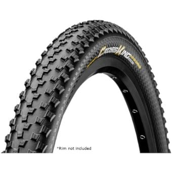 """Continental Cross King ProTection 29x2.3"""" Tubeless Folding MTB Tyre"""