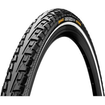 """Continental Ride Tour 26x1.75"""" Urban Tyre Reflective Sidewall"""