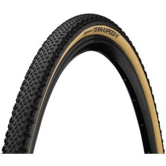 Continental Terra Speed TL Black Chilli 700X40c Folding Tyre Tan