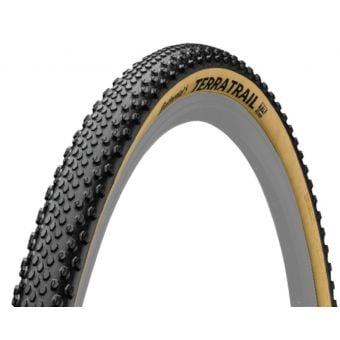 Continental Terra Trail Black Chilli 700X40c Folding Tyre Tan