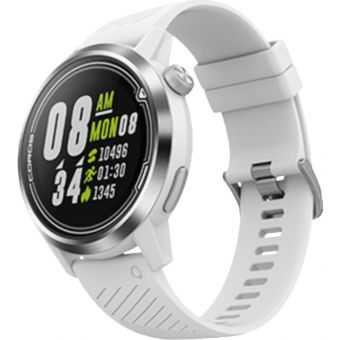 Coros Apex Premium Multisport GPS Watch 42mm White/Silver