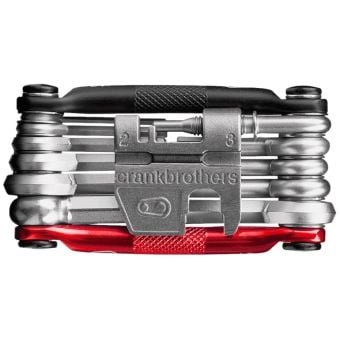 Crank Brothers M17 Multi-Tool Black/Red