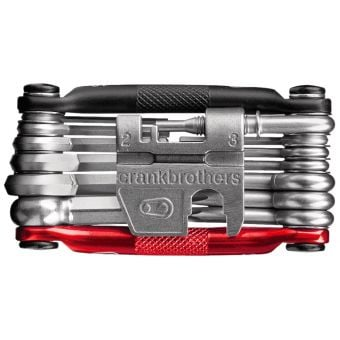 Crank Brothers M19 Multi-Tool Black/Red