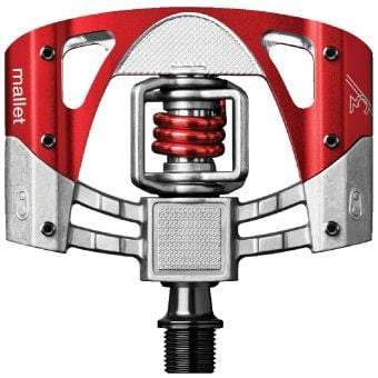Crank Brothers Mallet 3 MTB Pedals Red/Red Spring