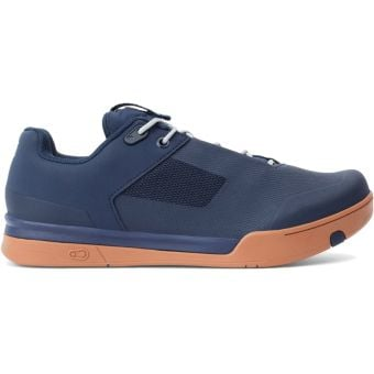 Crank Brothers Mallet Lace SPD MTB Shoes Navy/Silver Gum