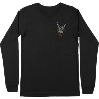 Crank Brothers Rock and Roll LS Top 2021 Black