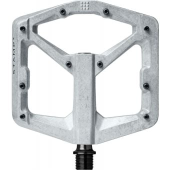 Crank Brothers Stamp 2 Gen2 Pedals Raw Silver Large