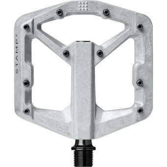 Crank Brothers Stamp 2 Gen2 Pedals Raw Silver Small